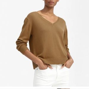 Everlane The Soft Cotton V-Neck